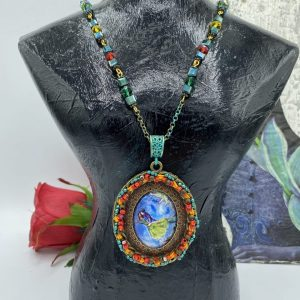 chagall handmade necklace