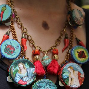 Sacred and Profane Necklace