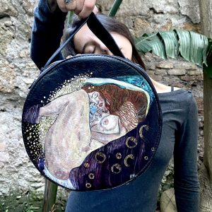 Danae by Klimt hand painted bag