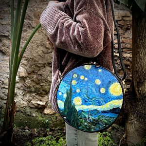Vincent Van Gogh hand painted bag
