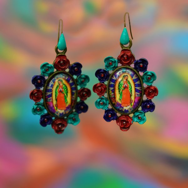 Our Lady of Guadalupe Earrings