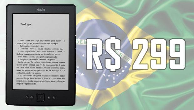 Amazon chega ao Brasil e anuncia kindle a  R$ 299