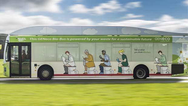 Bio-Bus – Um ônibus movido a fezes humanas.