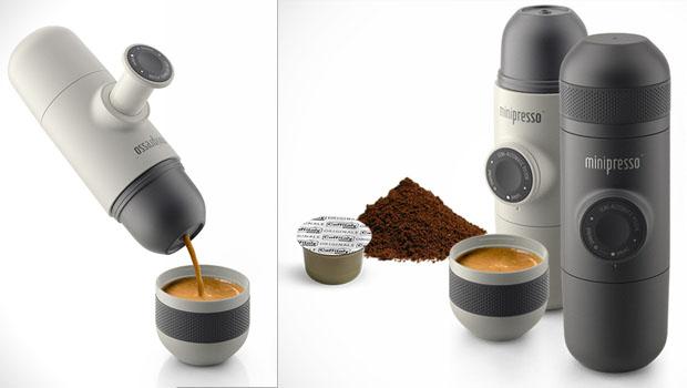 Os Deuses do café aprovam o Minipresso.