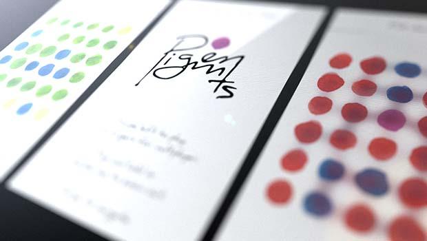 Pigments, um jogo simples e viciante.