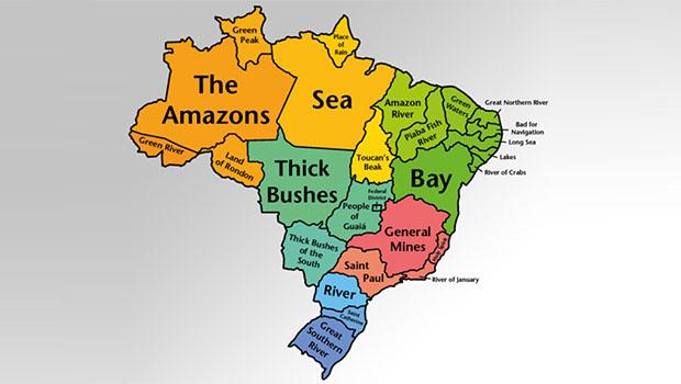 A origem dos Nomes dos Estados brasileiros