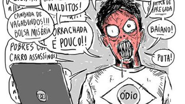 O ódio nas redes sociais
