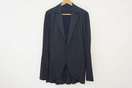 クオリティ・デザインを追求したパジュラのベスト付きジャケットを店頭預かり買取いたしました