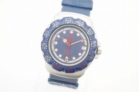 爽やかキュートな手元に、タグ・ホイヤーの腕時計を買取いたしました