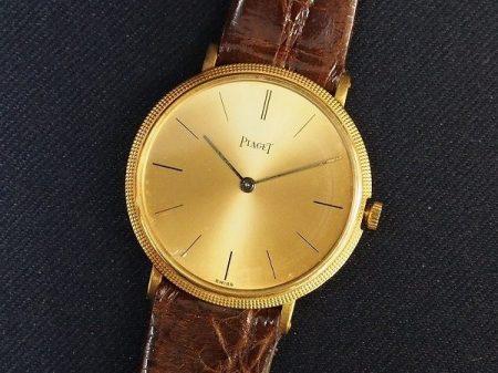 ゴージャス感が嬉しい!ピアジェの腕時計を買取しました