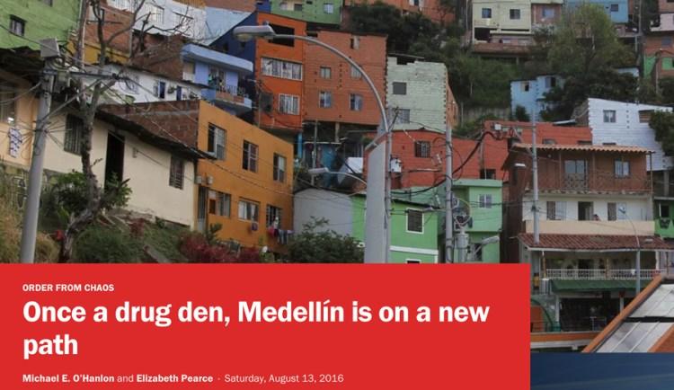 Once a drug den, Medellín is on a new path
