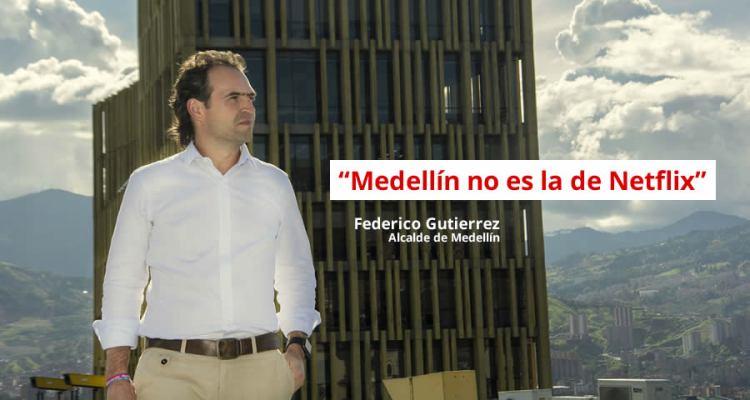 Medellín no es la de Netflix