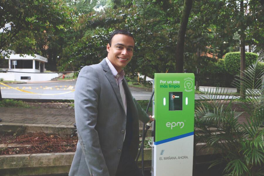 Secretario de Movilidad de Medellín, Humberto Iglesias Gómez.