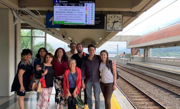 Delegados del Congreso de Ciudad de México aprenden de seguridad y participación ciudadana en Medellín
