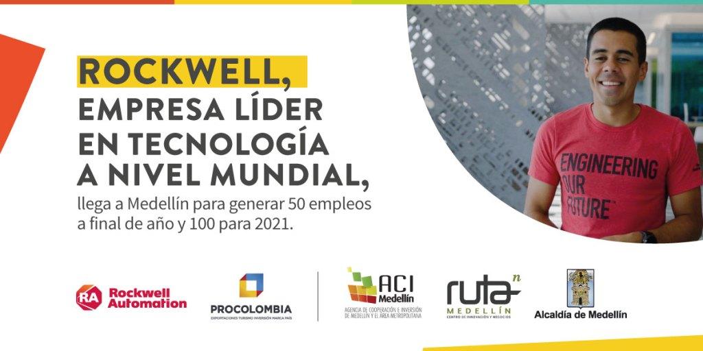 Llega Rockwell Automation a Medellín