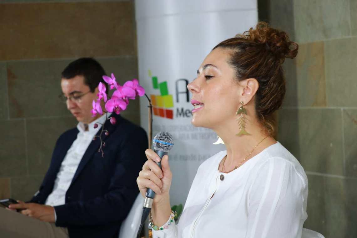 Eleonora Betancur, directora ejecutiva de la ACI Medellín