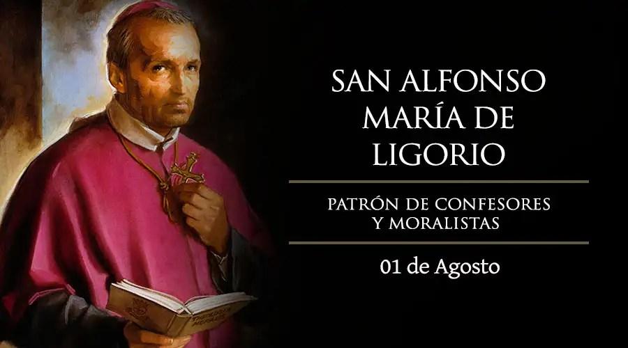 Resultado de imagen para San Alfonso María de Ligorio