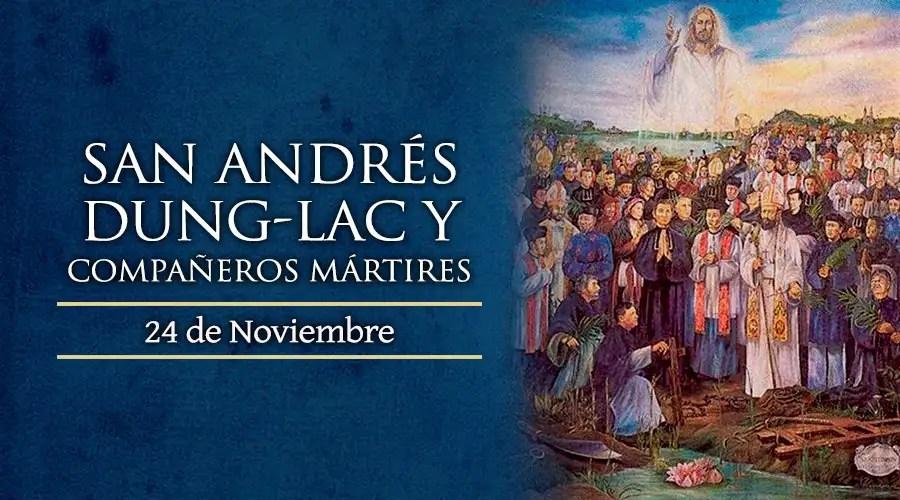 Resultado de imagen para Santos Andrés Dung-Lag y compañeros