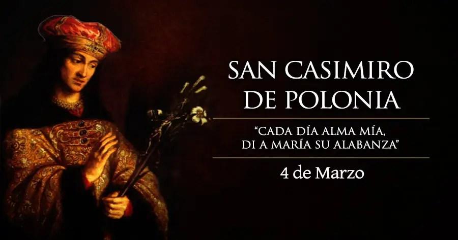 Resultado de imagen para San Casimiro de Polonia