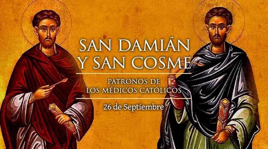 Resultado de imagen para Santos Cosme y Damián