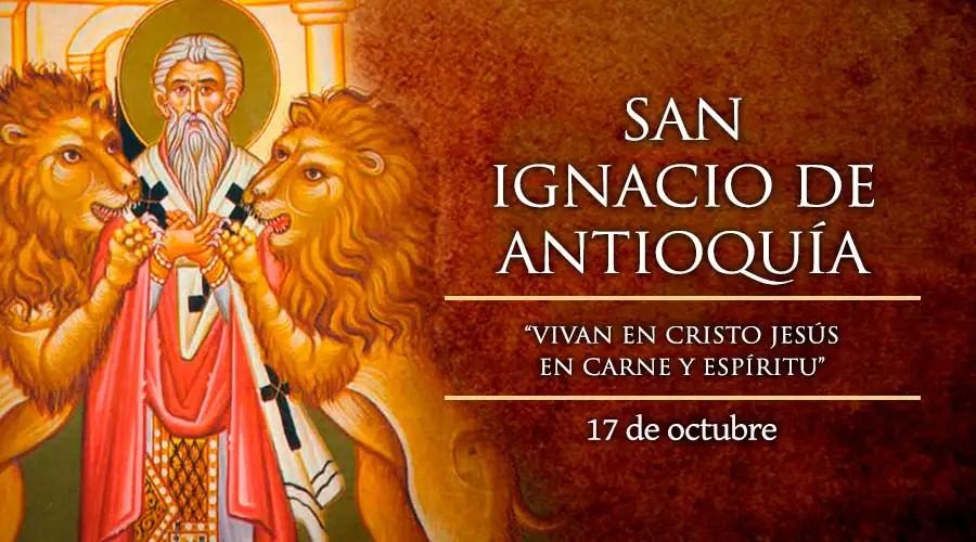 Resultado de imagen para San Ignacio de Antioquía