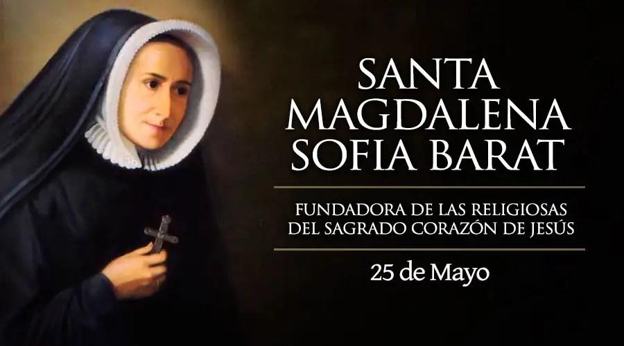 Resultado de imagen para Santa Magdalena Sofía Barat