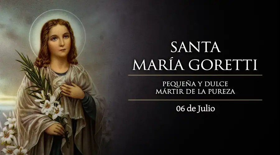 Resultado de imagen para Santa María Goretti