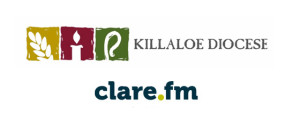 Killaloe diocese and Clare FM logos