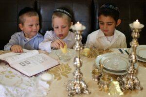 boys at passover