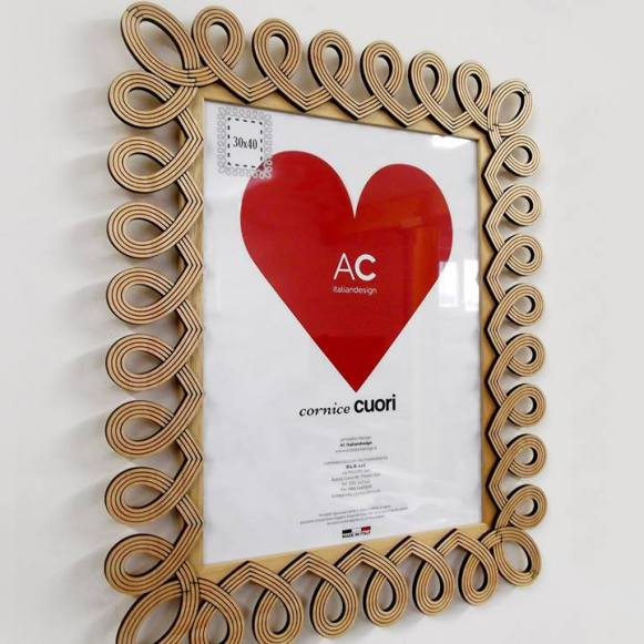 Picture frame Poker - Cuori