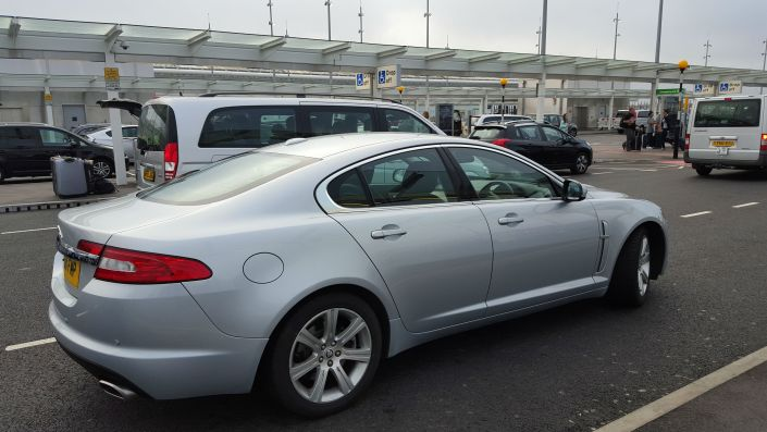 Jaguar XF Executive Taxi