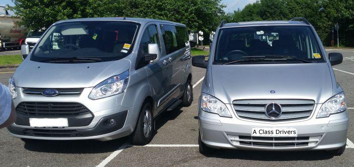 A Class Drivers Cardiff To Southampton Cruise Terminal Executive MPV Taxi