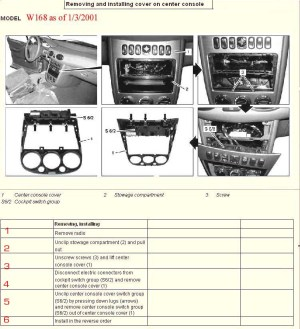 Bert Rowe'smercedesBenz 'A'class info Heater BlowerFan Units fan controls ,heater controls