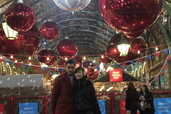Christmas in Covent Garden
