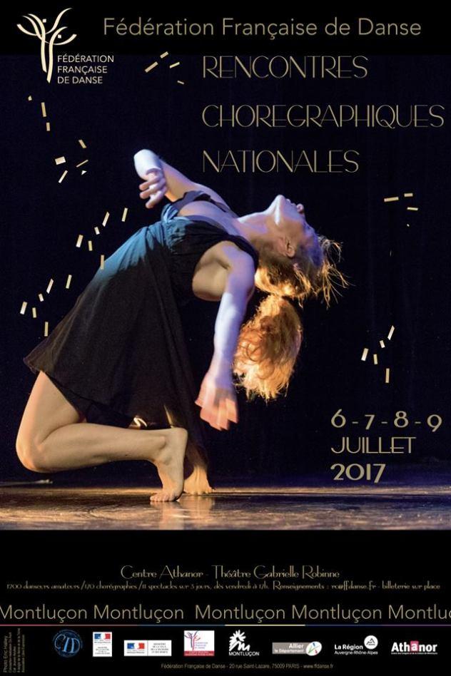Ecole de danse - Rencontres Chorégraphies Nationales de la FFD