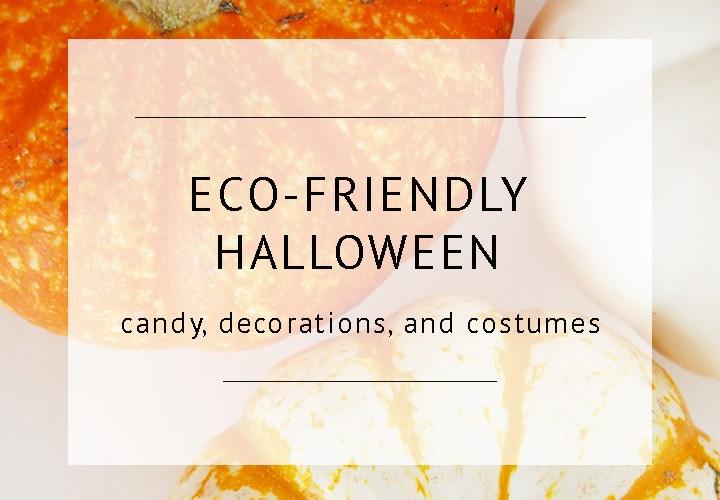 Eco Friendly Halloween