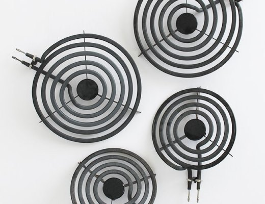 How to clean an electric stove top