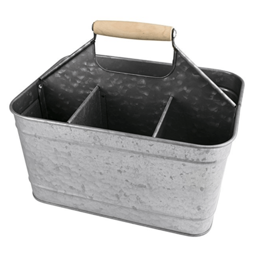 Galvanized Steel Cleaning Caddy