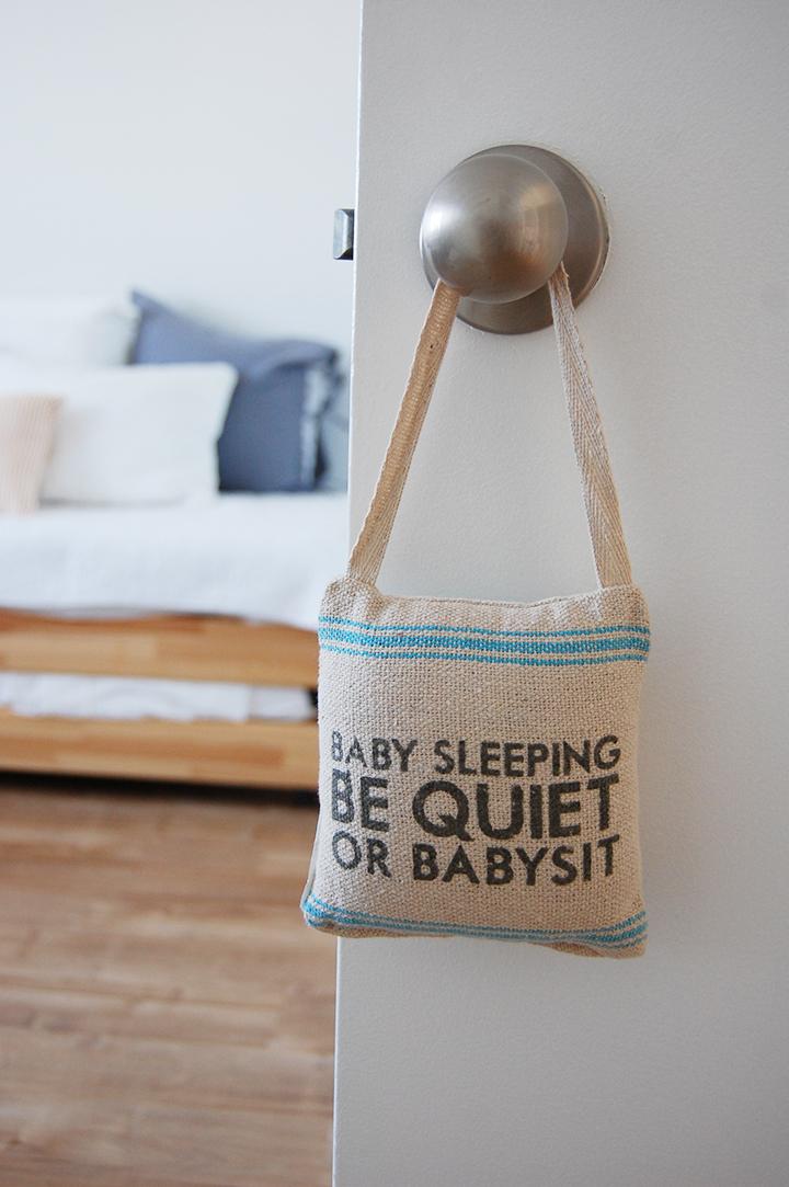 Minimalist nursery accessories