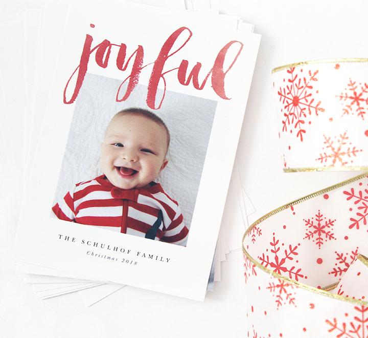 Holiday Photo Card