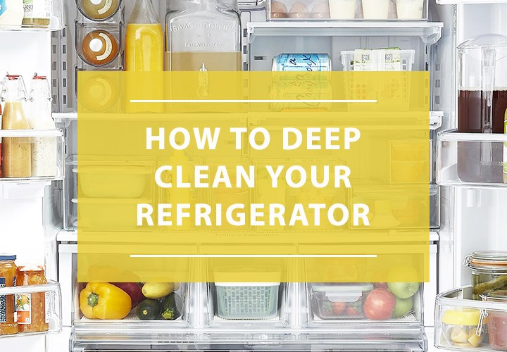 How to deep clean your refrigerator naturally