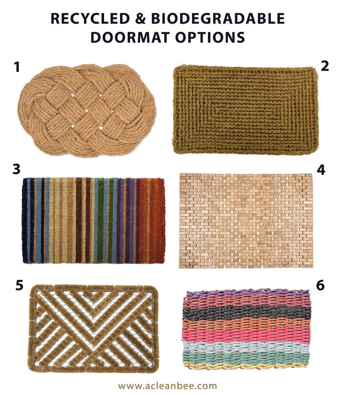 How to Clean a Doormat - A Clean Bee
