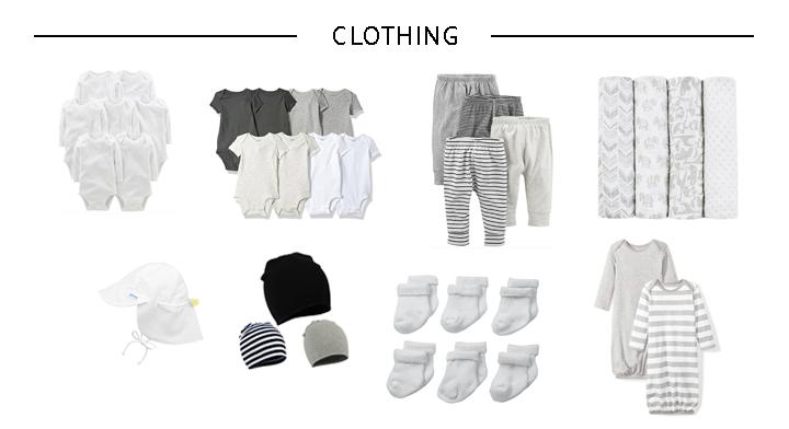 Minimalist Newborn Clothing Essentials