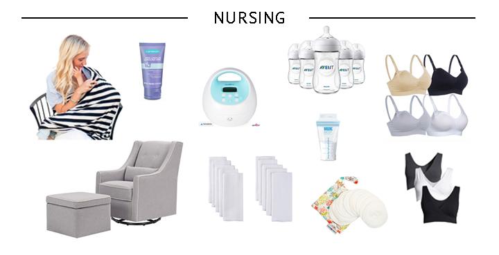 Minimalist Newborn Essentials for Nursing