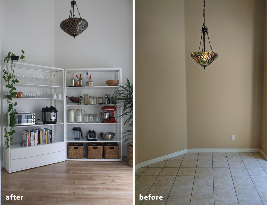 Inexpensive Kitchen Makeover