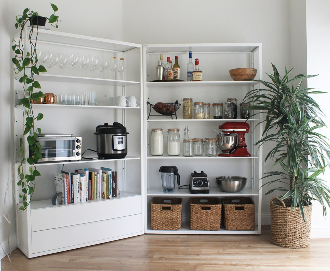 Minimalist Kitchen Makeover