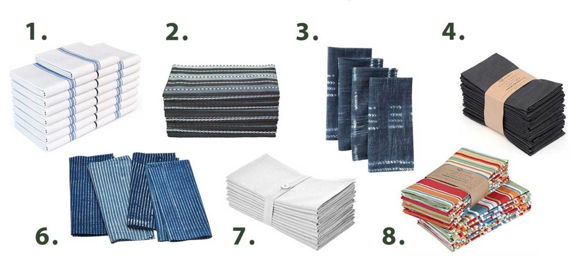 Tools for a paper-free kitchen - Napkins