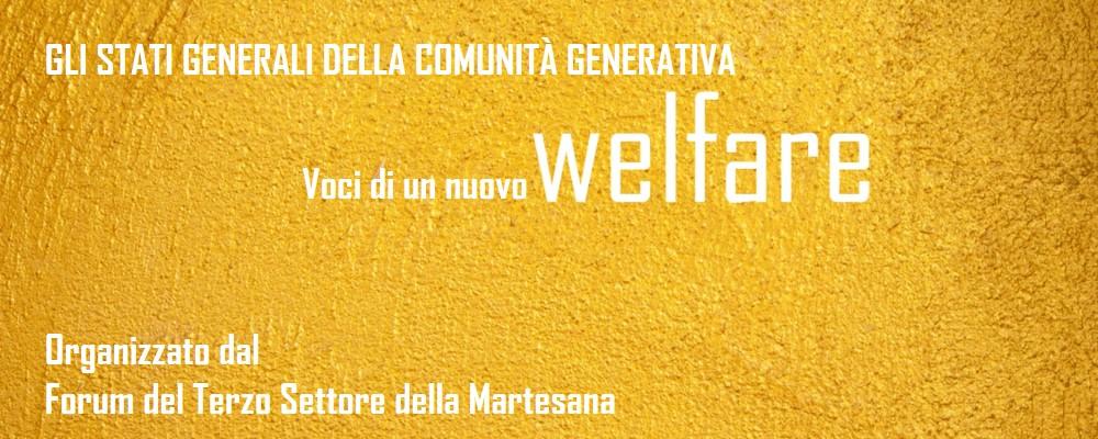 Stati Generali del Welfare Generativo