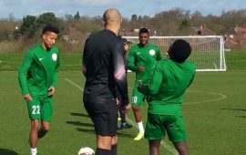 Oliseh: It was an honour to have worked with Ikeme