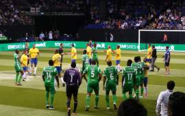 STAR SIXES TOURNAMENT – view from the press